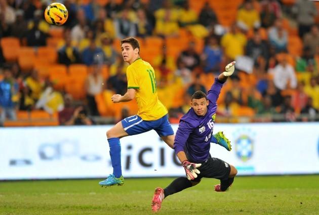 Soccer - International Friendly - South Africa v Brazil - FNB Stadium