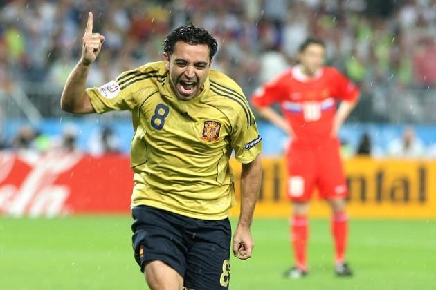 Soccer - UEFA European Championship 2008 - Semi Final - Russia v Spain - Ernst Happel Stadium
