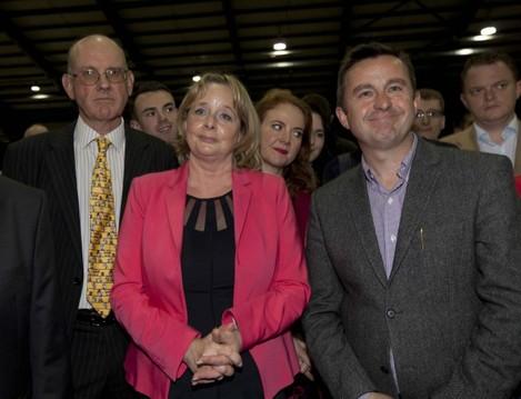 Dublin European Elections RDS. Outgoing