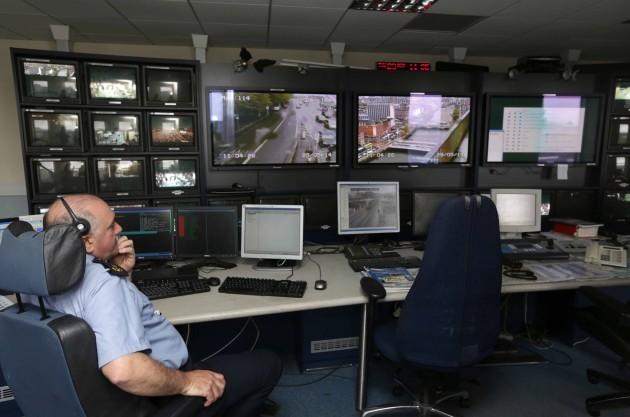 Garda Communications Centre. Garda Des