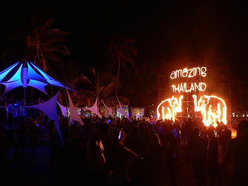 Full Moon party @ Koh Phangan