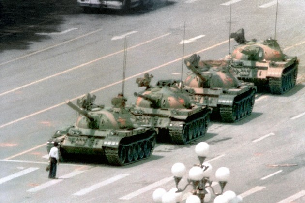 TIANAMEN SQUARE DEMONSTRATION