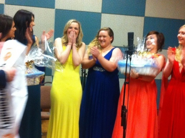 Great reaction from Miss GAA - Laura McCormack -