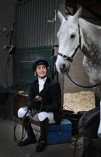 Sam Micklem with is horse Smart Spirit