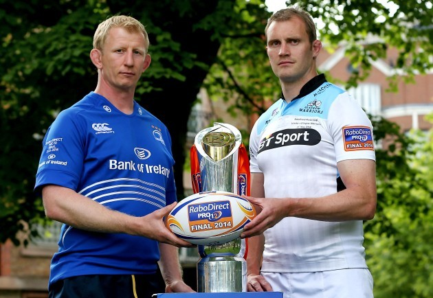 Leo Cullen and Alastair Kellock