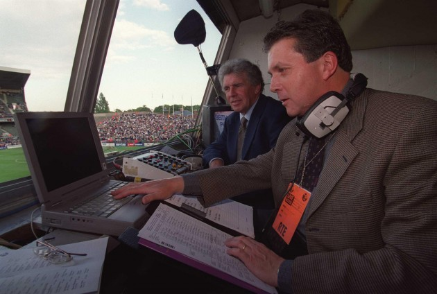George Hamilton and John Giles 30/5/2000