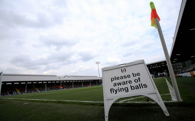 A general view of Craven Cottage ahead of the game