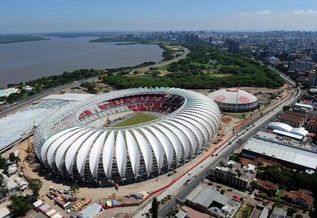 Soccer - FIFA Brazil World Cup 2014 - Estadio Beira-Rio