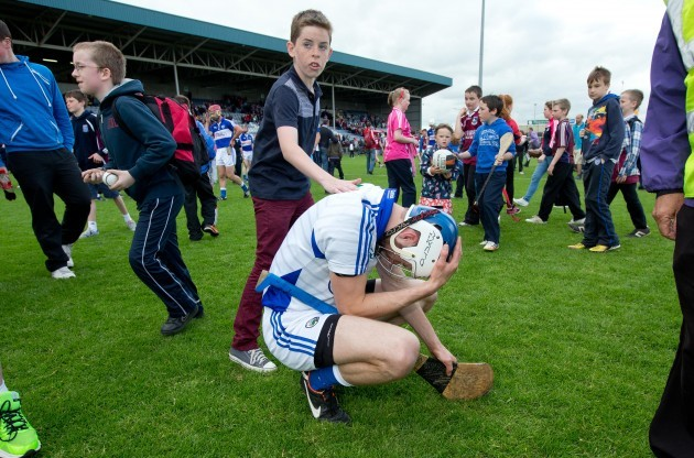 Eoin Reilly dejected after the game