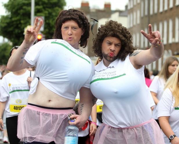 Flora Women's Mini Marathon. Pictured
