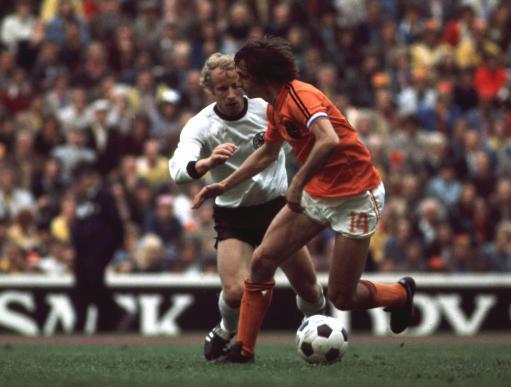 SOCCER WORLD CUP 1974 FINAL - Germany v Holland (Netherlands)