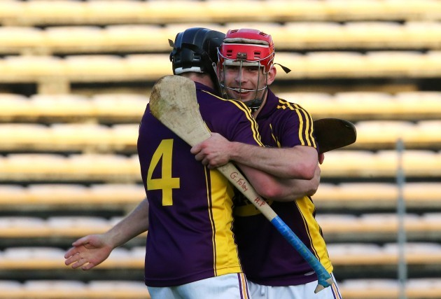 Eoin Conroy and Garrett Foley celebrate