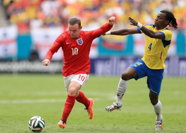 Soccer - World Cup 2014 - Miami Training Camp - England v Ecuador - Sun Life Stadium