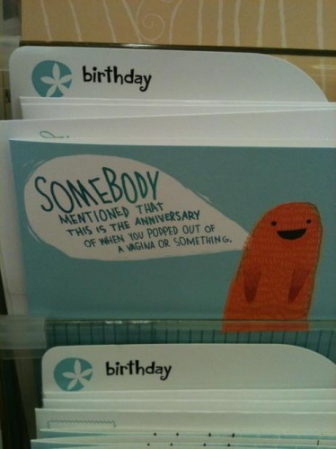 I think the world needs more literal greeting cards.. - Imgur
