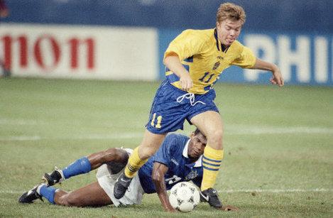 Soccer Pro Games World Cup 1994 Group B Sweden vs Brazil