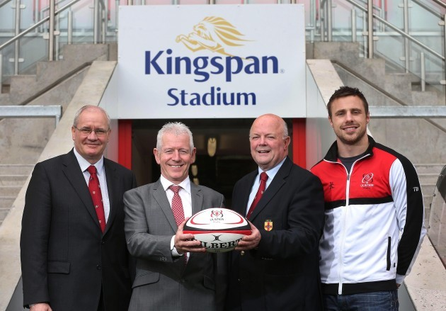 Ulster Rugby agrees stadium naming rights deal with Kingspan 5/6/2014