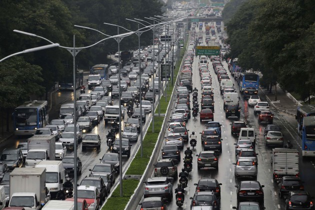 Brazil WCup Transport Strike