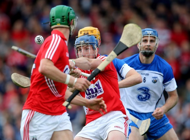 Patrick Horgan scores a point from play