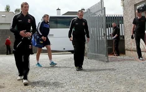 Gavin Duffy arrives
