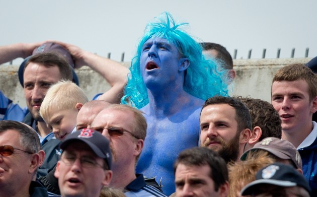 Dublin fans on the Hill