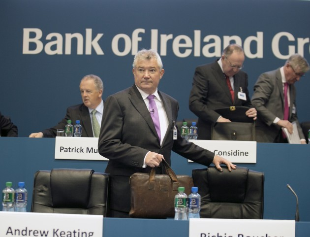 Bank Of Ireland Business AGMS