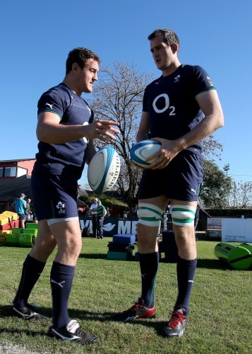 Rob Herring and Devin Toner
