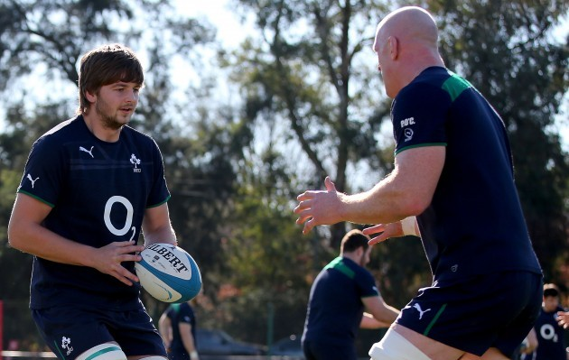 Iain Henderson and Paul O'Connell