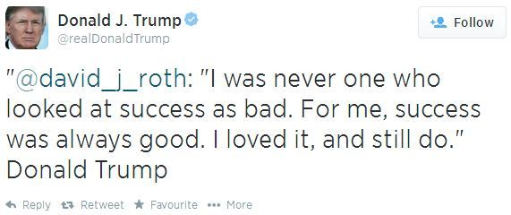 donaldtrumptweet