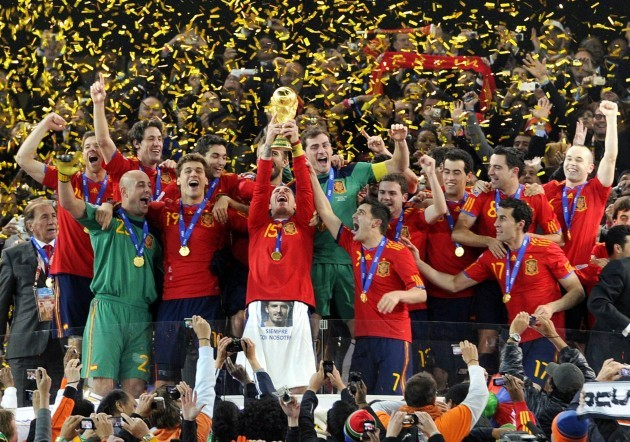 Spain beats Netherlands to win World Cup