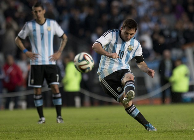 Argentina Slovenia WCup Soccer