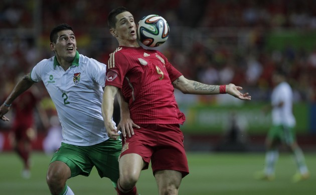 Spain Bolivia WCup Soccer