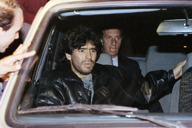 Diego Maradona 1991