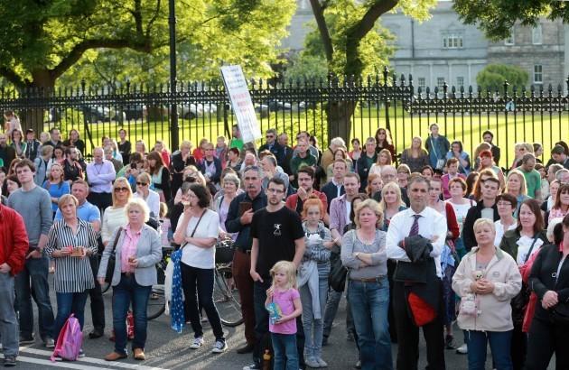 Justice for the Tuam Babies march. Mem