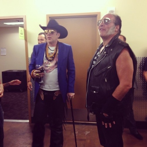 Mr Nicolas Cage and Mr Andrew Dice Clay