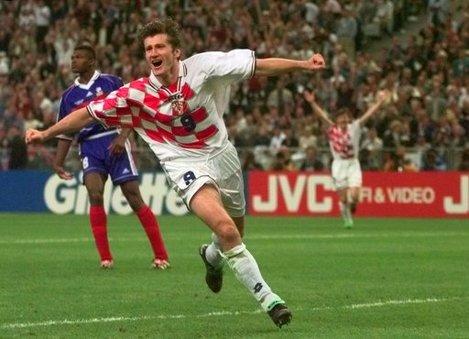 Soccer - 1998 World Cup - Semi Final - France v Croatia - Stade de France