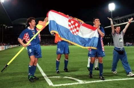 Soccer - World Cup France 98 - Quarter Final - Germany v Croatia