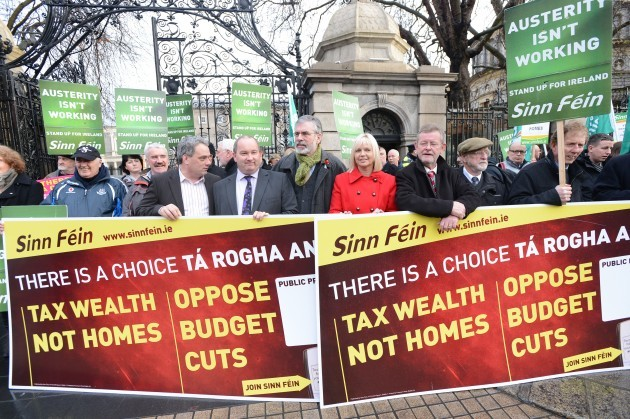 Sinn Fein Anti Property Tax Protests
