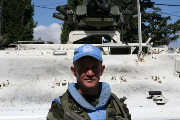 Sgt Declan Higgins UNDOF Syria