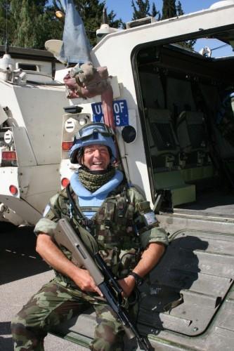 Lt Martin Griffin, UNDOF Syria