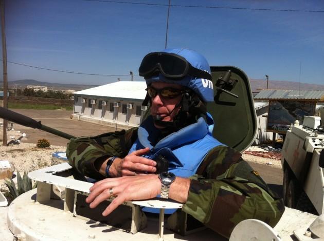 Comdt Robert Kiely UNDOF Syria