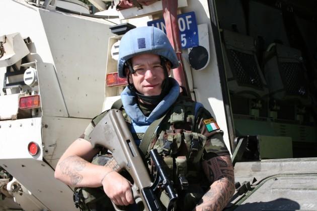 Pte Gavin Lyons UNDOF Syria