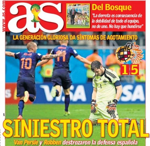 as cover front page