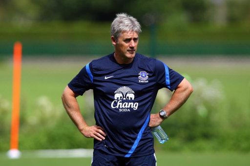 Soccer - Everton Pre Season Training Camp - Day Two - Obertraun National Sports & Recreation Centre - Austria