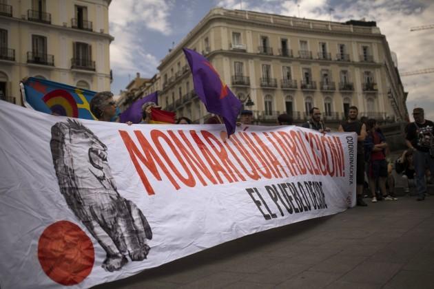Spain King Abdicates