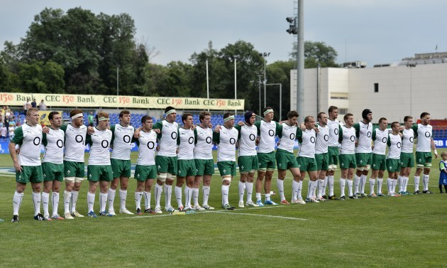 The Emerging Ireland team line up