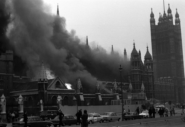 HOUSE OF COMMONS BOMB