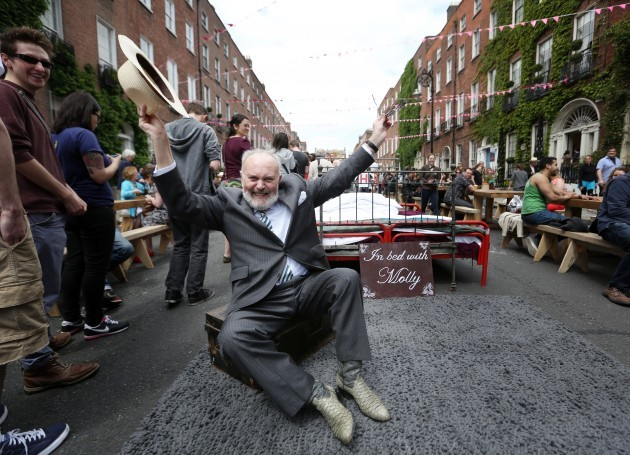 Bloomsday weekend Celebrations. Pictur