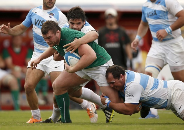 Jack McGrath tackled
