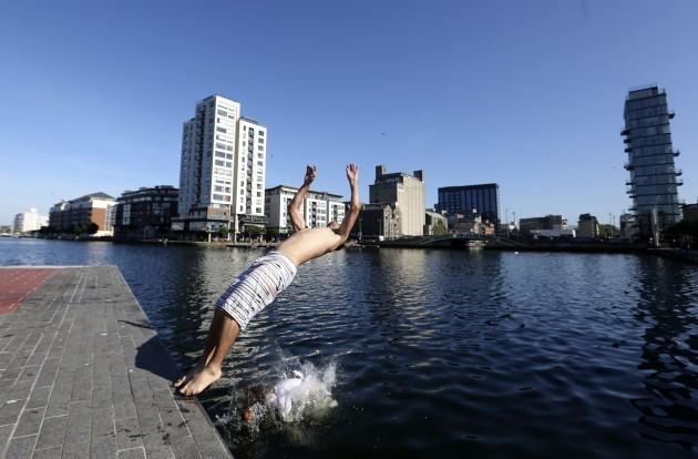 Dublin Weather Scenes. Pictured Bruno G