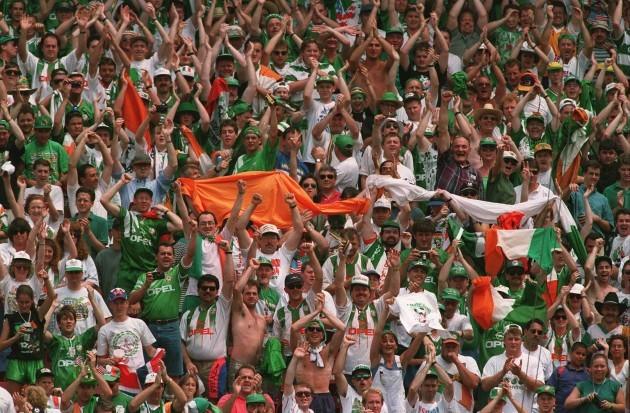 Soccer - USA World Cup 1994 - Ireland v Italy